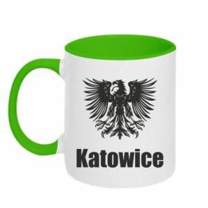 Kubek dwukolorowy Katowice
