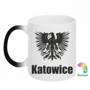 Kubek-kameleon Katowice