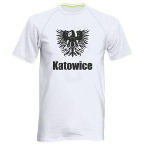 Męska koszulka sportowa Katowice