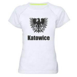 Damska koszulka sportowa Katowice
