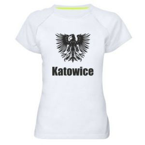 Women's sports t-shirt Katowice