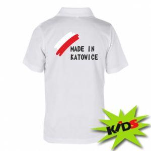 Koszulka polo dziecięca Made in Katowice