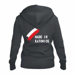 Damska bluza na zamek Made in Katowice