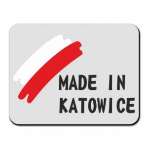 Mouse pad Made in Katowice