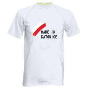 Koszulka sportowa męska Made in Katowice