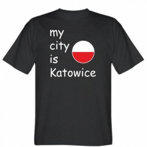 T-shirt My city is Katowice