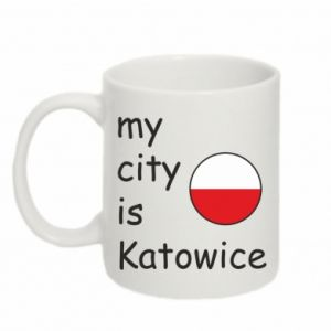 Mug 330ml My city is Katowice