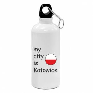Water bottle My city is Katowice
