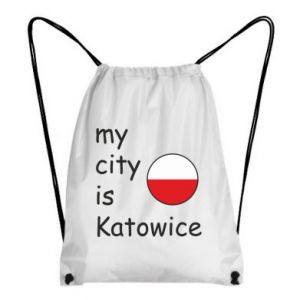 Backpack-bag My city is Katowice