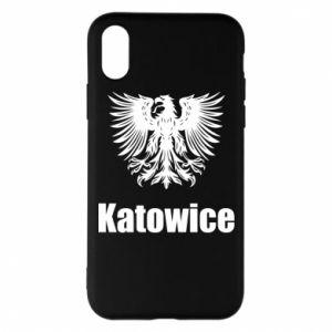 Etui na iPhone X/Xs Katowice