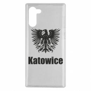 Męska koszulka sportowa I love Katowice - PrintSalon