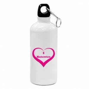 Water bottle I love Katowice