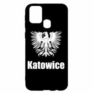 Damska koszulka sportowa I love Katowice - PrintSalon
