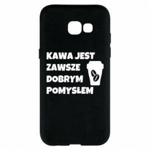 Etui na Samsung A5 2017 Kawa jest zawsze dobrym pomysłem