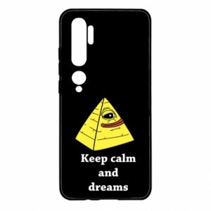 Etui na Xiaomi Mi Note 10 Keep calm and dreams