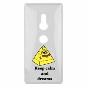 Etui na Sony Xperia XZ2 Keep calm and dreams