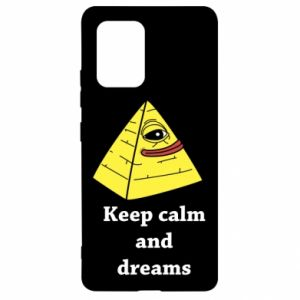 Etui na Samsung S10 Lite Keep calm and dreams
