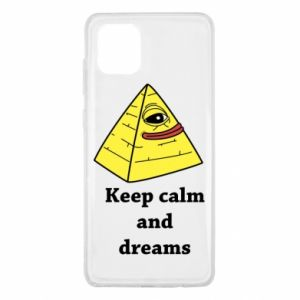 Etui na Samsung Note 10 Lite Keep calm and dreams