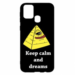 Etui na Samsung M31 Keep calm and dreams