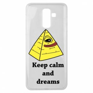 Etui na Samsung J8 2018 Keep calm and dreams