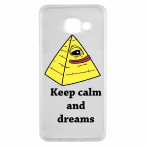 Etui na Samsung A3 2016 Keep calm and dreams