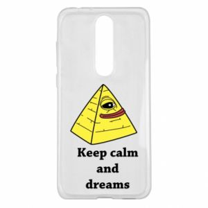 Etui na Nokia 5.1 Plus Keep calm and dreams