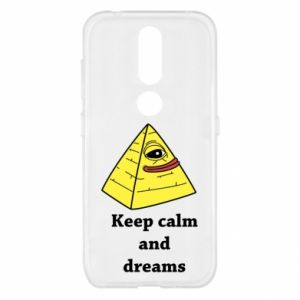 Etui na Nokia 4.2 Keep calm and dreams