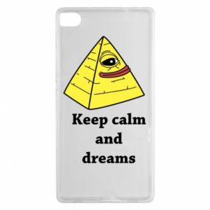 Etui na Huawei P8 Keep calm and dreams
