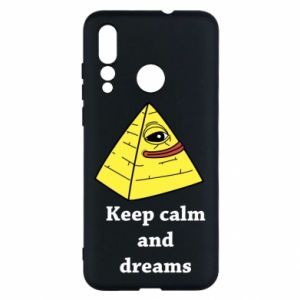 Etui na Huawei Nova 4 Keep calm and dreams