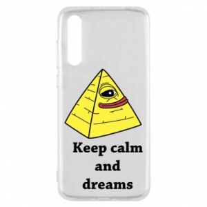 Etui na Huawei P20 Pro Keep calm and dreams