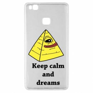 Etui na Huawei P9 Lite Keep calm and dreams