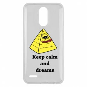 Etui na Lg K10 2017 Keep calm and dreams
