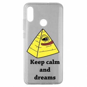 Etui na Huawei Honor 10 Lite Keep calm and dreams