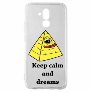 Etui na Huawei Mate 20 Lite Keep calm and dreams