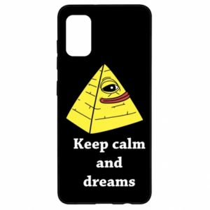 Etui na Samsung A41 Keep calm and dreams