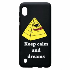 Etui na Samsung A10 Keep calm and dreams