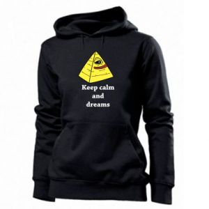 Bluza damska Keep calm and dreams