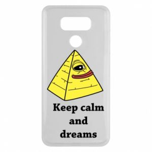 Etui na LG G6 Keep calm and dreams