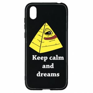 Etui na Huawei Y5 2019 Keep calm and dreams