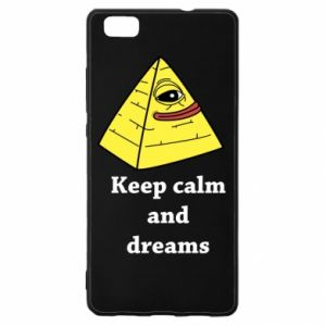 Etui na Huawei P 8 Lite Keep calm and dreams