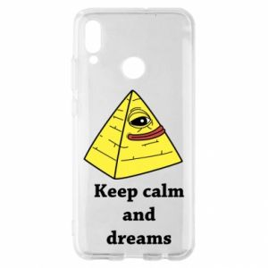 Etui na Huawei P Smart 2019 Keep calm and dreams