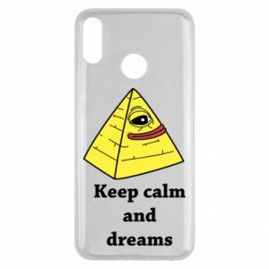 Etui na Huawei Y9 2019 Keep calm and dreams