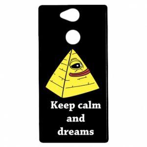 Etui na Sony Xperia XA2 Keep calm and dreams