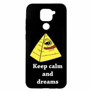Etui na Xiaomi Redmi Note 9/Redmi 10X Keep calm and dreams