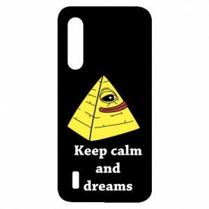 Etui na Xiaomi Mi9 Lite Keep calm and dreams