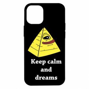 Etui na iPhone 12 Mini Keep calm and dreams