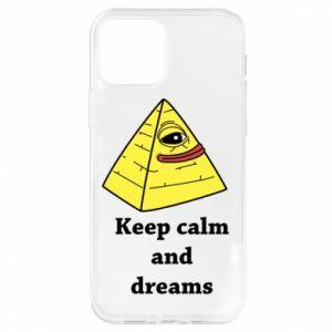 Etui na iPhone 12/12 Pro Keep calm and dreams