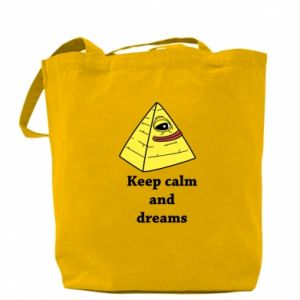 Torba Keep calm and dreams