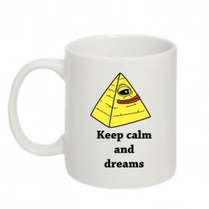 Kubek 330ml Keep calm and dreams
