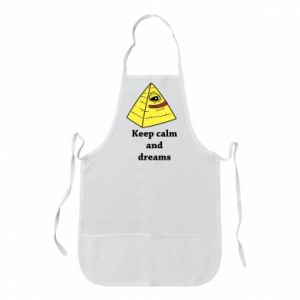 Fartuch Keep calm and dreams